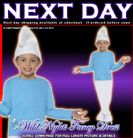 FANCY DRESS COSTUME # BOYS SMURF TODDLER AGE 3-4